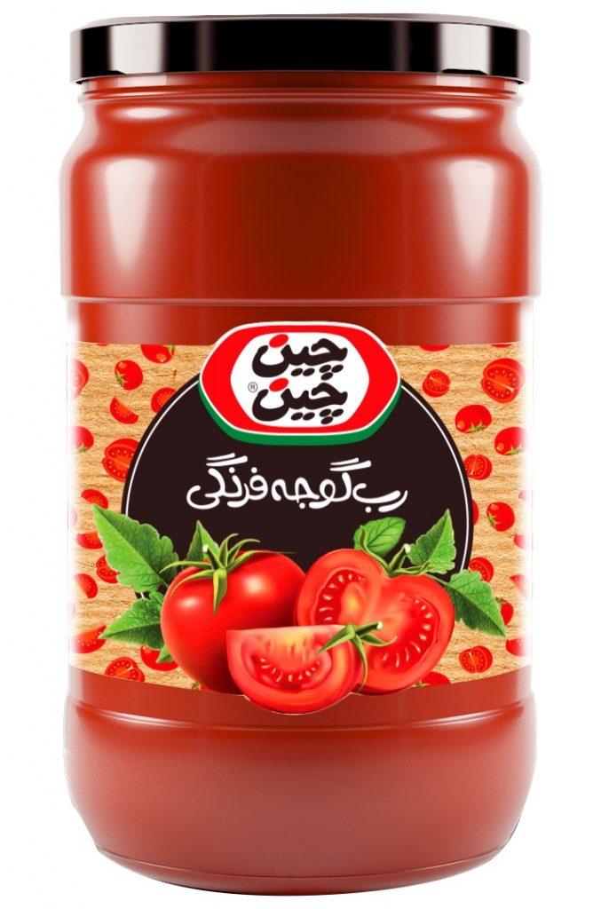 رب گوجه فرنگی خانگی چین چین