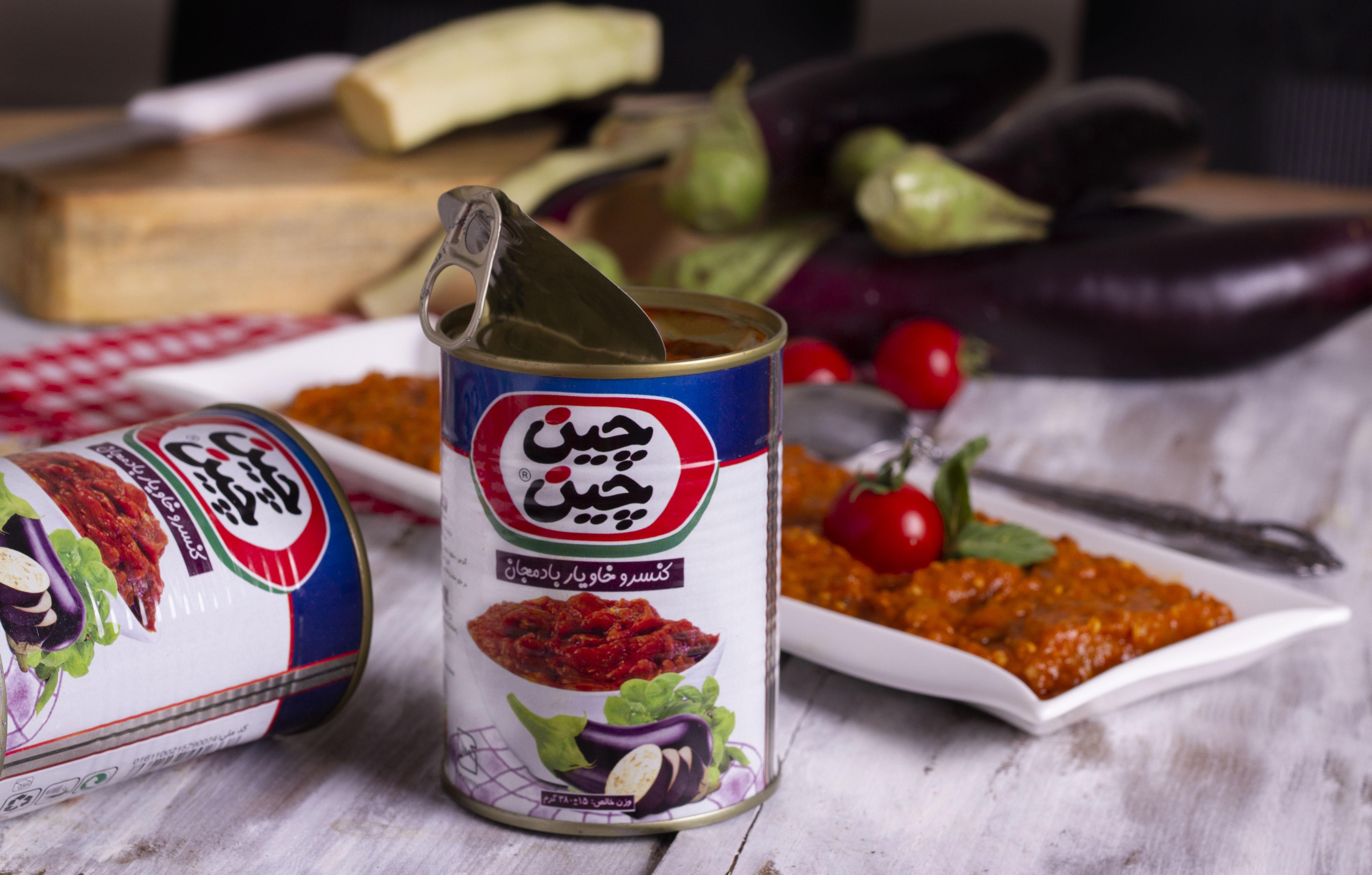 خوراک بادمجان چین چین