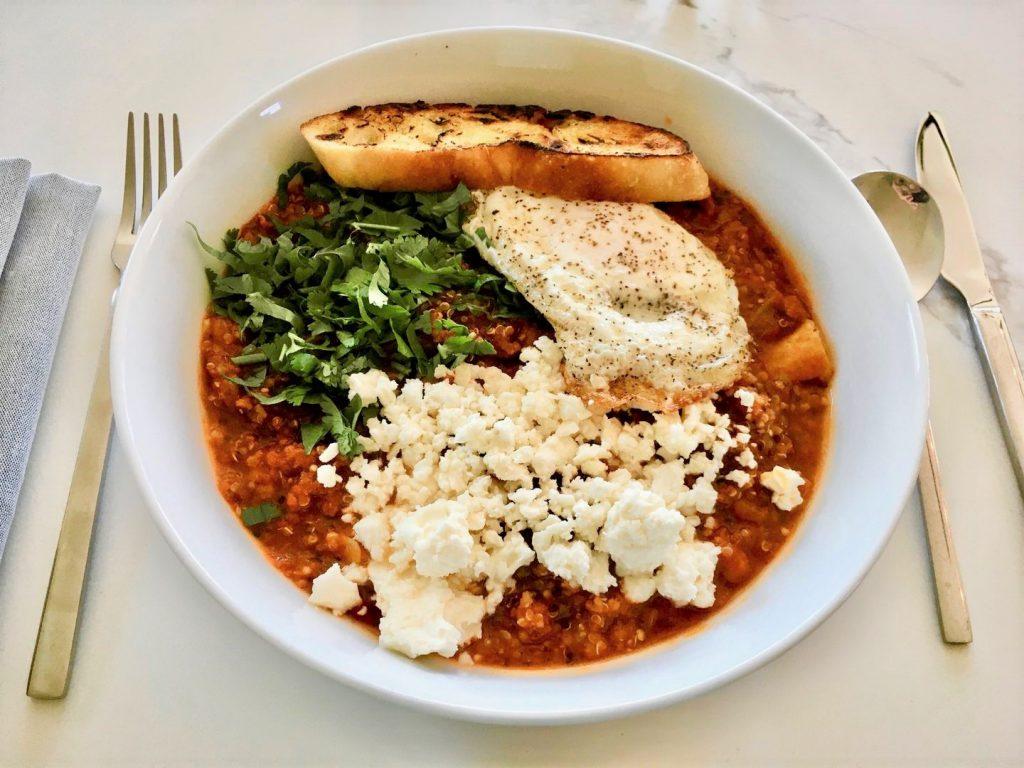 خوراک بادمجان لبنانی