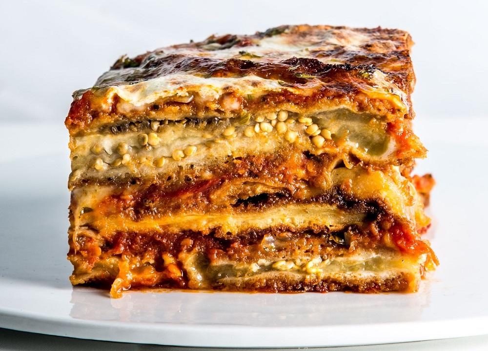 خوراک بادمجان ایتالیایی