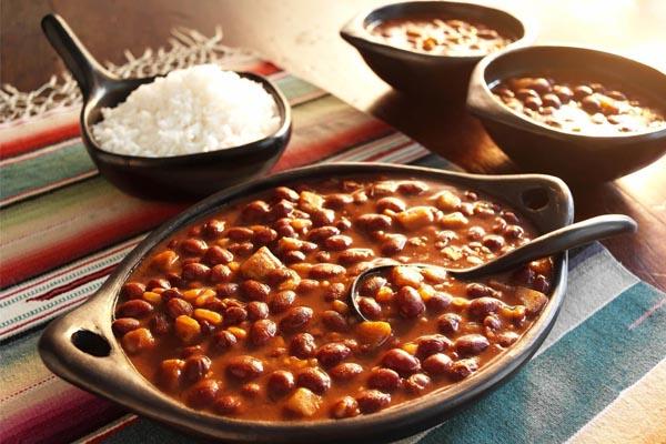 خوراک لوبیا چیتی رژیمی